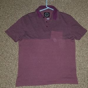 Genetic apparel Color block polo
